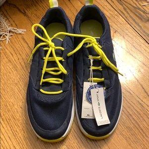 Lacoste men's ortholite sneakers